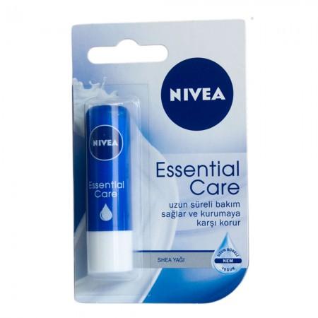 Nivea Essential Care Dudak Bakım Kremi 4,8 gr