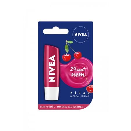 Nivea Lip Care Kiraz İçerikli Dudak Bakım Kremi 4,8 gr