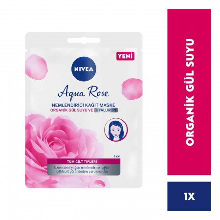 Nivea Visage Rose Aqua Kağıt Maske