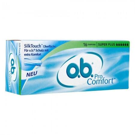 O.B Pro Comfort Süper Plus Tampon 16 Adet