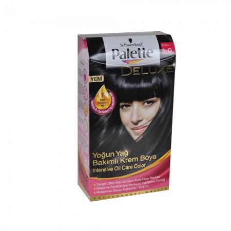 Palette Deluxe 1-0 Siyah Saç Boyası