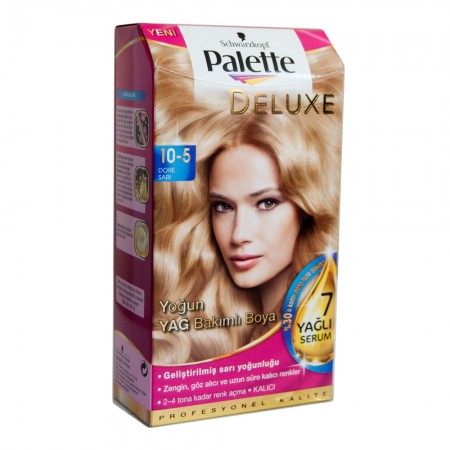 Palette Deluxe 10-5 Dore Sarı Saç Boyası