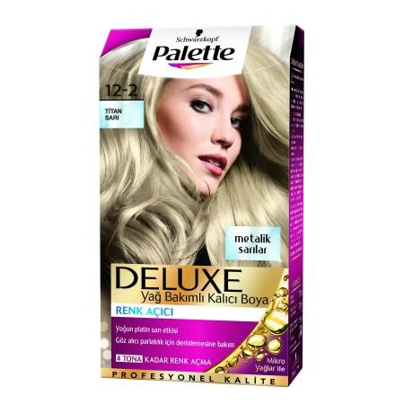 Palette Deluxe 12-2Küllü Sarı Saç Boyası