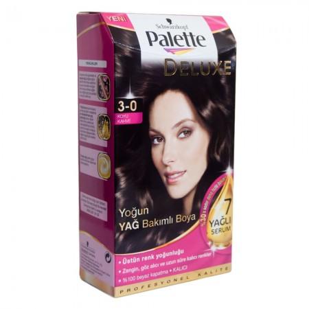 Palette Deluxe 3-0 Koyu Kahve Saç Boyası