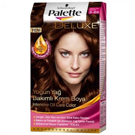 Palette Deluxe 3-65 Çikolata Kahve Saç Boyası