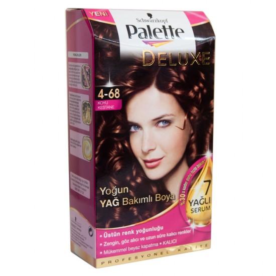 Palette Deluxe  4-68 Koyu Kestane Saç Boyası