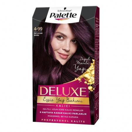 Palette Deluxe 4-99 Patlıcan Moru Saç Boyası
