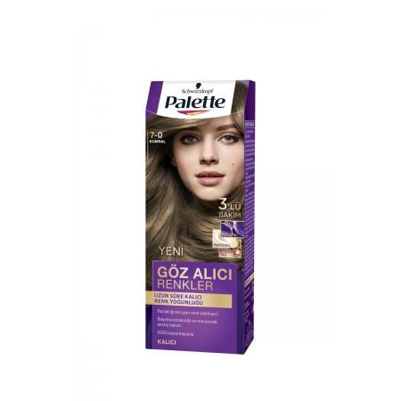 Palette Göz Alıcı Renkler Saç Boyası 7-0 Kumral