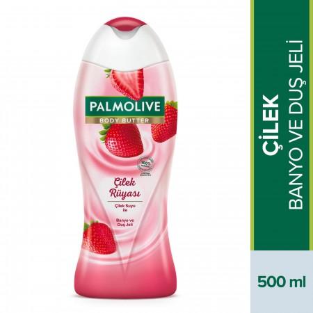 Palmolive Body Butter Çilek Rüyası Banyo ve Duş Jeli 500 Ml