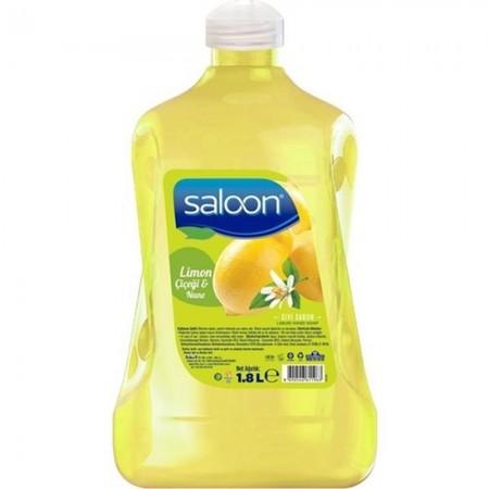 Saloon Sıvı Sabun Limon Çiçeği Nane 1800 ML