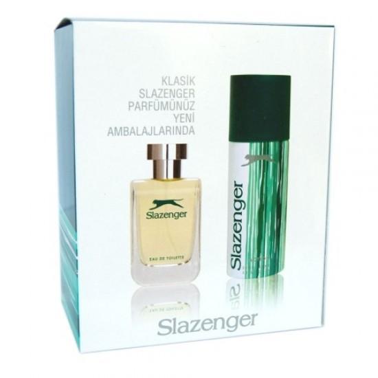 Slazenger Actıon EDT 100 ML Erkek Parfümü + Deo