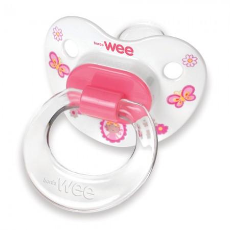 Wee Baby Silikon Desenli Damaklı Emzik No 3 835